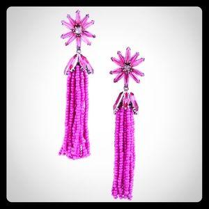 BaubleBar Monet Tassel Drop Earrings